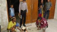 Warga memasak menggunakan metana di Desa Waruktengah, Kecamatan Pangkur, Ngawi, Rabu (8/8 - 2018). (Solopos.com/Polres Ngawi)