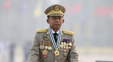Myanmar Gelar Parade Militer di Hari Angkatan Bersenjata