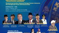 """Pameran Karya Kreatif Indonesia (KKI) 2021 Seri 1 dengan """"Eksotisme Lombok"""" akan digelar pada 3 - 31 Maret 2021."""