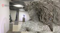 Salah satu karya di NuArt Sculpture Park