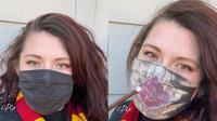 Simak masker kain Harry Potter yang mengandung unsur magis  (Foto: instagram/coponyex)