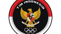 Logo Kontingen Indonesia di Olimpiade Tokyo 2020. (NOC Indonesia).