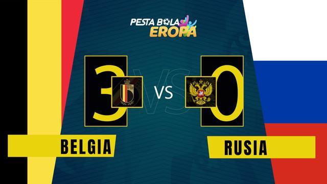 Berita Video, Belgia Kalahkan Rusia 3-0 di Grup B Euro 2020 pada, Minggu (13/6/2021). Romelu Lukaku Sukses Sumbangkan Dua Gol di Pertandingan Kali Ini