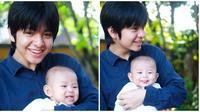 Momen Angga Yunanda bareng keponakannya yang bikin gemas. (Sumber: Instagram/@anggayunandareal16)