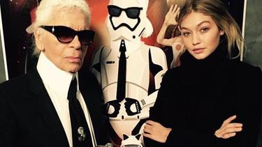 [Fimela] Karl  Lagerferld dan Seleb Hollywood