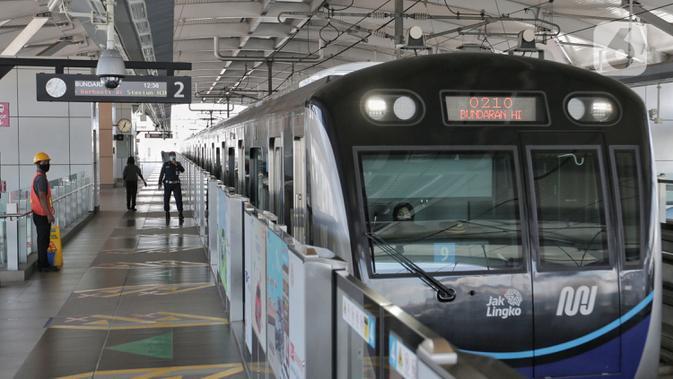Ingat, MRT Jakarta Tak Layani Single Trip Ticket Selama PSBB Transisi