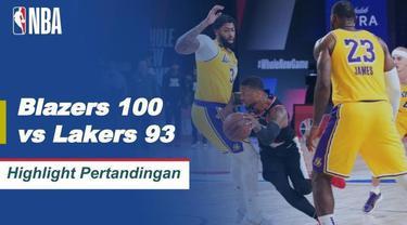 Berita Video Highlights NBA, LA Lakers Tumbang dari Portland Trail Blazers di Ronde Pertama Babak Playoff