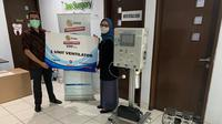 EMTEK Peduli Corona serahkan bantuan ventilator untul RS Ibu dan Anak Dhia Tangerang