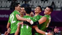 Tim bola voli putra Indonesia yang tampil di Asian Games 2018. (Asiangames2018)