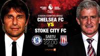 Chelsea vs Stoke City (Liputan6.com/Abdillah)