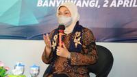 Menaker Ida saat mengunjungi BLK Banyuwangi, Jawa Timur, Jumat (2/4/2021).