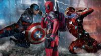 Ilustrasi Captain America, Deadpool, dan Iron Man dalam film. (Sumber: Screenrant.com / Marvel Studios / 20th Century Fox)