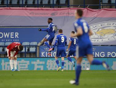 Kelechi Iheanacho Gemilang, Leicester City Kandaskan MU 3-1