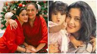 Potret kompaknya ibu-anak, Lydia Kandou dan Naysila Mirdad sejak dulu. (Sumber: Instagram/@naymirdad/@lydiakandou_)
