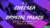 Premier League - Chelsea Vs Crystal Palace (Bola.com/Adreanus Titus)