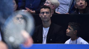Cristiano Ronaldo di laga tenis dunia ATP Finals 2018