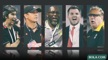 Trivia - 5 Pelatih Stefano Cugurra Teco, Robert Alberts, Jacksen F. Tiago, Simon McMenemy, Gomes de Oliveira