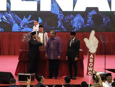 Momen Pidato Kebangsaan Prabowo Sandi Indonesia Menang