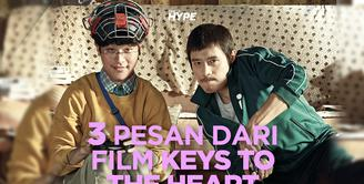 Apa saja pesan yang dapat diambil dari film Keys To The Heart? Yuk, kita cek video di atas!