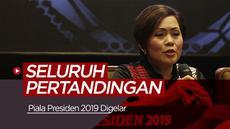 Berita video tentang Piala Presiden 2019 yang akan ditayangkan di Indosiar.