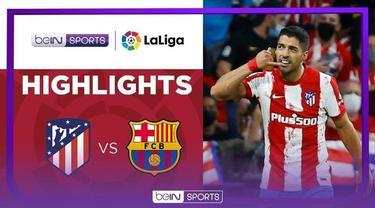 Berita video highlights Liga Spanyol, Atletico Madrid kalahkan Barcelona 2-0, Minggu (3/10/21)