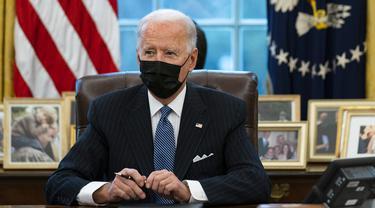 FOTO: Joe Biden Batalkan Larangan Transgender Masuk Militer AS Era Donald Trump