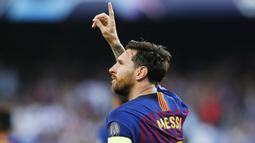 1. Lionel Messi (Barcelona) - 3 Gol. (AP/Manu Fernandez)