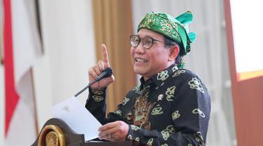 Menteri Abdul Halim Iskandar mengahdiri acara Penandatanganan nota kesepakatan antara Kemendes PDTT dengan Pemkab Sumedang