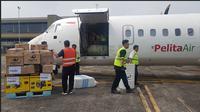 PT Pertamina (Persero) kembali mengerahkan Pelita Air Service untuk percepatan dan optimalisasi pendistribusian BBM, dengan membawa kargo berupa SPBU Portabel ke Palu, Sulawesi Tengah.