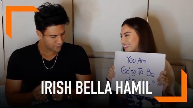 VIDEO: Irish Bella Hamil, Begini Reaksi Ammar Zoni