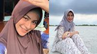 Gaya hijab Betari Ayu. (Instagram/@betariayu22)