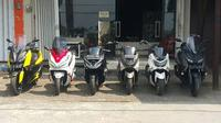 Persewaan yang dibuka oleh Agus Setyawan ini memiliki line-up skuter maxi yang sekarang beredar di Indonesia. (Otosia)