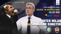 Semifinal Liga Europa Inter Milan Vs Shakhtar Donetsk. (Trie Yas/Liputan6.com)