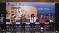 Penyelenggarakan Road to Kilau Digital Permata Flobamora 2021 Webinar & Workshop dengan tema Mendorong Kreasi & Inovasi UMKM Flobamora. (Liputan6.com/ Dionisius Wilibardus)