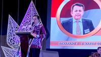 Pelaksana Tugas Kepala BPP Kemendagri, Agus Fatoni di Rapat Koordinasi Teknis Pendapatan Daerah Regional I di Semarang, Kamis (5/03/2020).