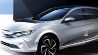 Calon mobil konsep Honda. (Autocar India)