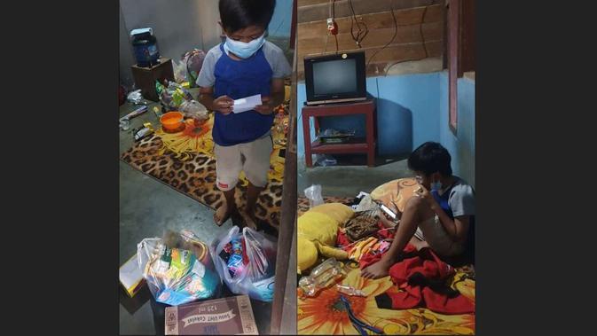 KINO Pilu, Vino Bocah 10 Tahun Isoman Sendiri Usai Orangtua Meninggal karena Covid-19 - News Liputan6.com