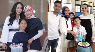 Potret 6 Seleb dan Mantan Istri Pasangan Rayakan Ultah Anak, Kompak Banget