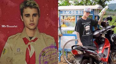 7 Editan Foto Justin Bieber Jadi Orang Indonesia Ini Kocak