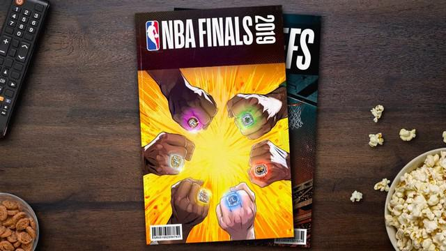 Berita video final NBA yang akan berlangsung pada 31 Mei 2019.