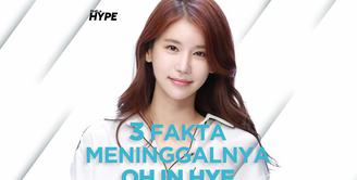 Seperti apa fakta meninggalnya aktris Korea Oh In Hye? Yuk, kita cek video di atas!