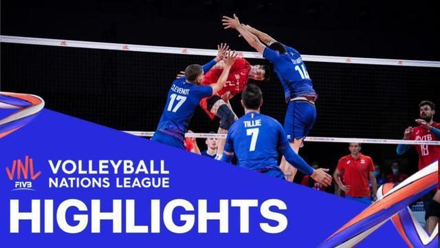 Berita Video, Tim Voli Putra Prancis Kalahkan Rusia 3-1 dalam Pertandingan Lanjutan Volleyball Nations League, Selasa (9/6/2021)