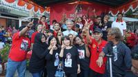 Calon Gubernur Jawa Tengah menghadiri deklarasi dukungan bagi dirinya di Magelang (Dok. Tim Ganjar)