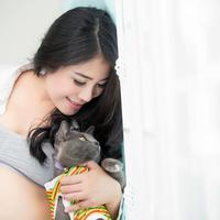 Memelihara kucing saat kehamilan./Copyright shutterstock.com
