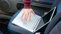 Ilustrasi laptop dicuri