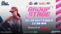 Jadwal dan Live Streaming Point Blank Ladies League 2021 Group Stage di Vidio, 25-26 September 2021. (Sumber : dok. vidio.com)
