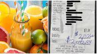 Pemilik kedai jus pinggir jalan ini terkejut dapat uang  tip fantastis. (Sumber: Unplash/Instagram/Miami Squeeze)