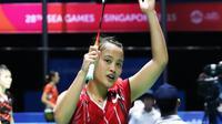 Hanna Ramadini melaju ke semifinal Bulu Tangkis SEA Games tunggal putri (istimewa)