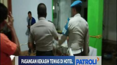 Penemuan jasad keduanya berawal saat petugas hotel curiga lantaran lampu kamar korban gelap. Bahkan, sebelumnya sempat terdengar kegaduhan dari dalam kamar.