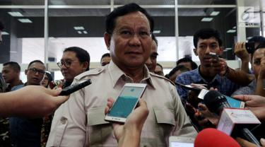 Sambangi DPR, Prabowo Bahas Serangkaian Teror di Tanah Air
